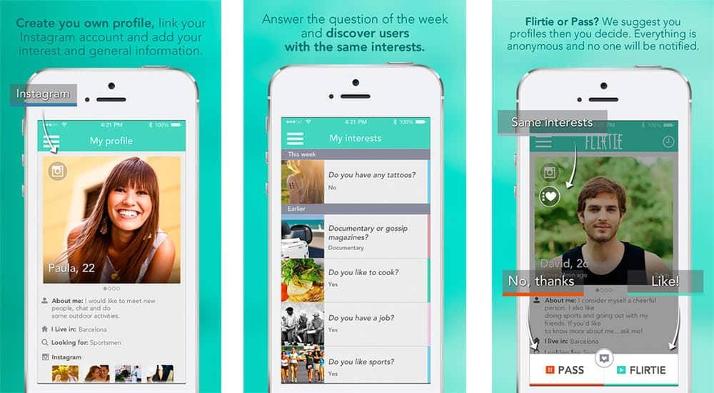 mejor app para ligar online flirtie