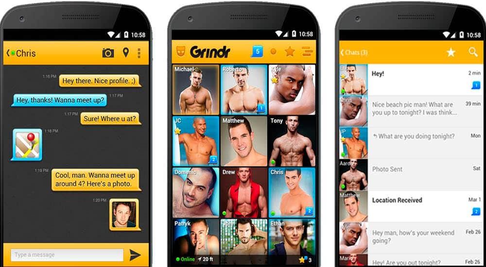 mejor app para ligar online grindr