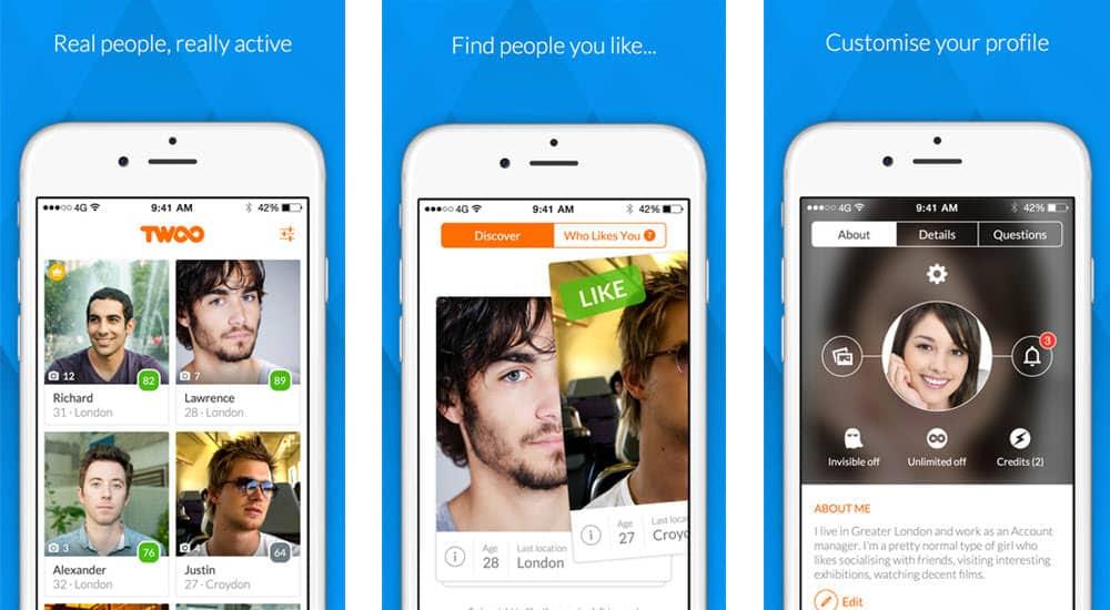 mejor app para ligar online twoo