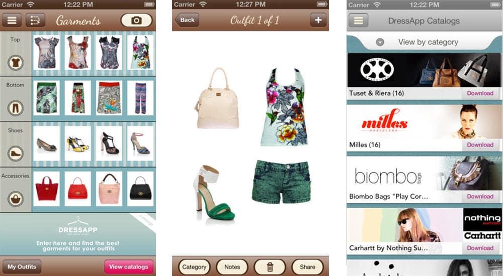 mejores aplicaciones belleza dressapp tu armario de bolsillo