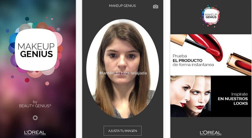 mejores-aplicaciones-belleza-ios-android-loreal-makeup-genius
