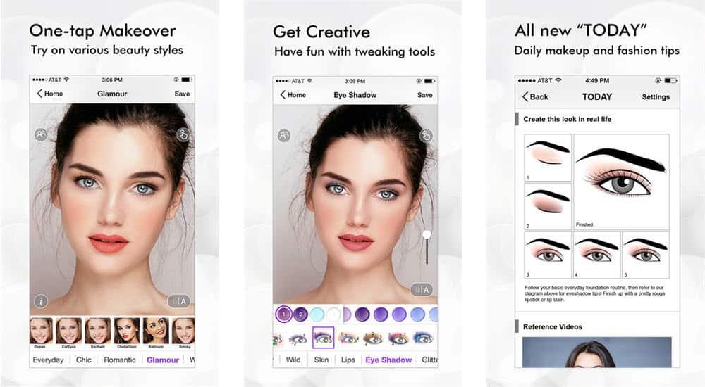 mejores aplicaciones gratuitas belleza perfect 365 onetap makeover