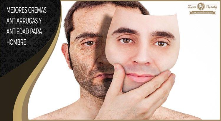 mejores cremas antiarrugas antiedad hombre