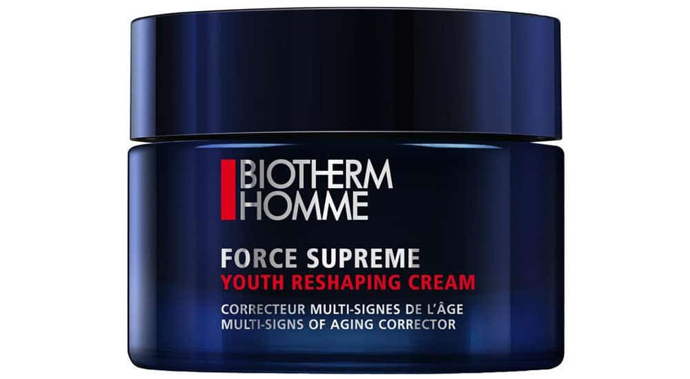 mejores cremas antiarrugas hombre youth reshaping cream biotherm homme
