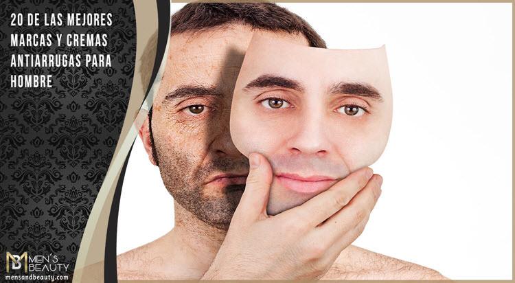 cremas antiarrugas para hombres