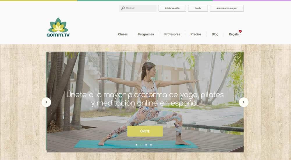 mejor gimnasio online para hacer ejercicio en casa aomm tv