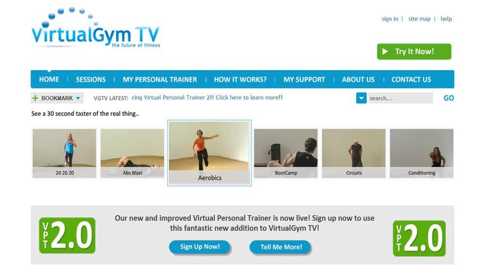 mejor gimnasio online para hacer ejercicio en casa virtualgym