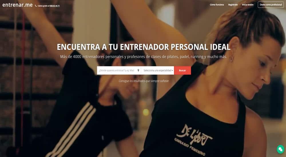 mejor gimnasio virtual para hacer ejercicio en casa entrenar me