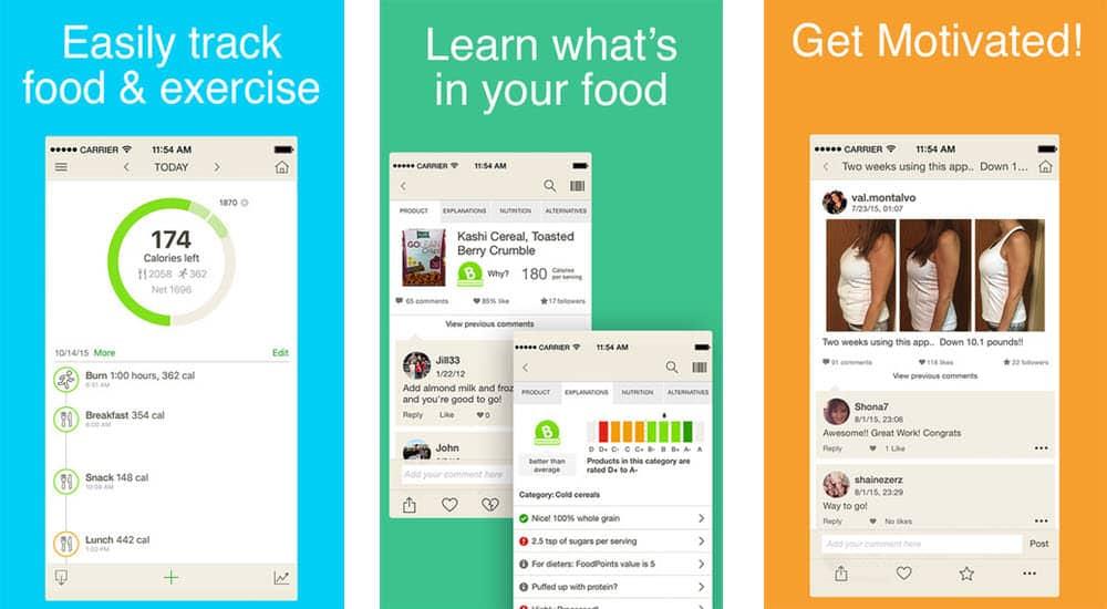 mejores aplicaciones gratis para adelgazar fooducate weight loss personalized diet healthy food motivation