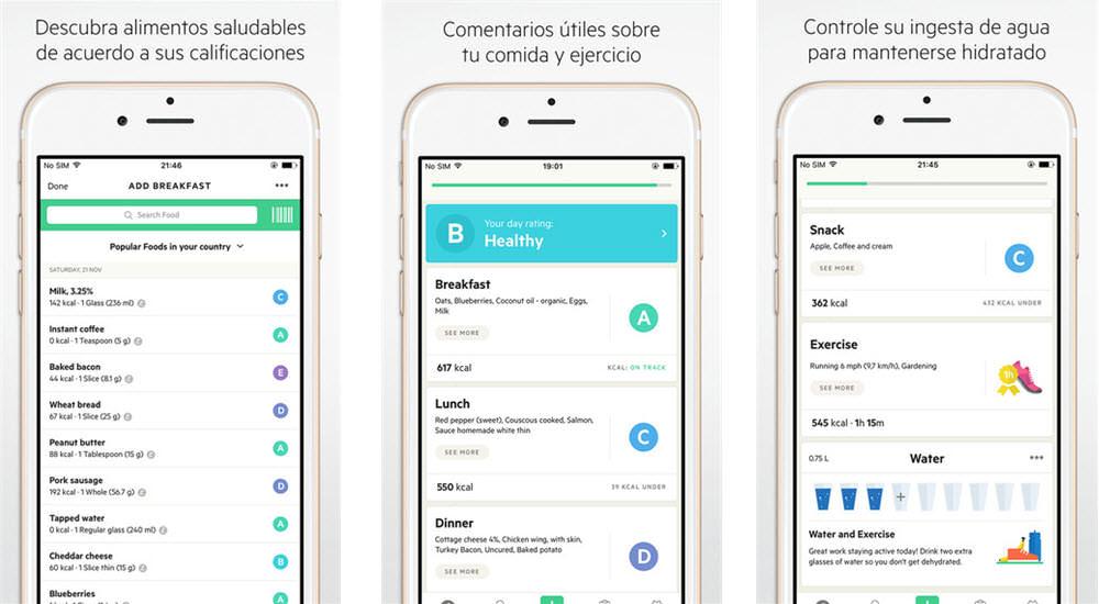 mejores aplicaciones gratis para adelgazar lifesum seguimiento del estilo de vida y contador de calorias