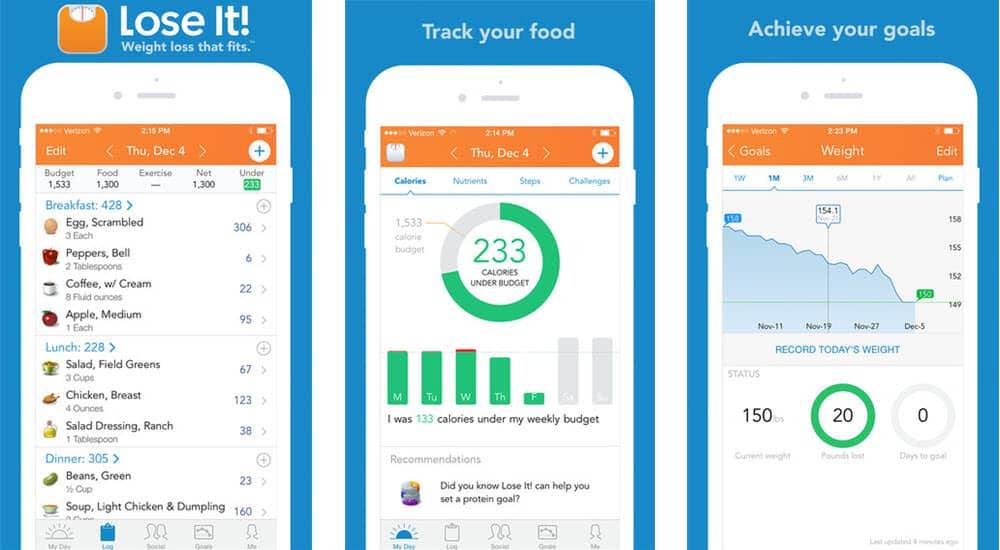 mejores aplicaciones gratis para adelgazar lose it weight loss program and calorie counter