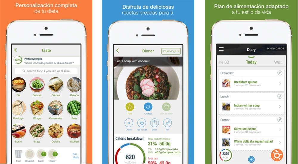mejores aplicaciones gratis para adelgazar the personal diet nutrino