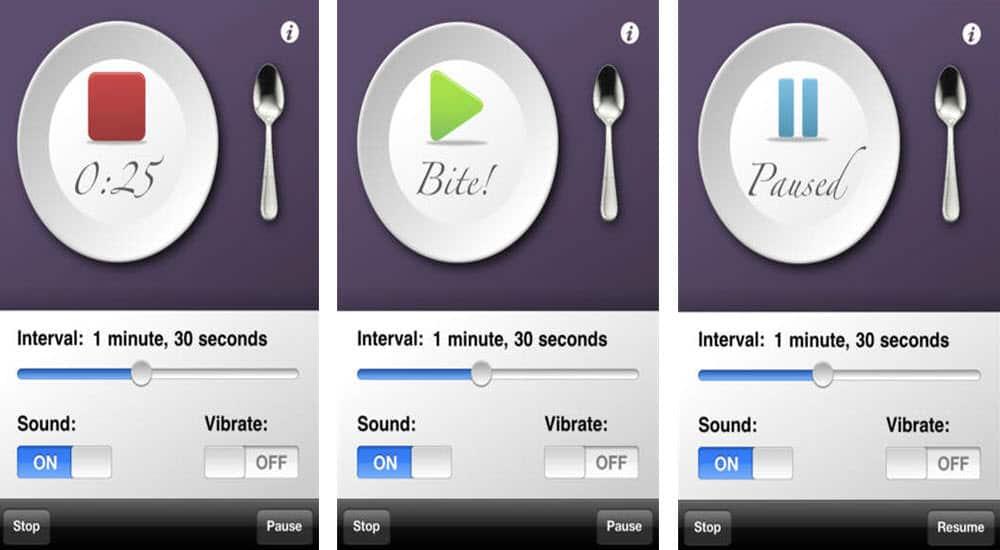 mejores aplicaciones gratis para perder peso eat slower
