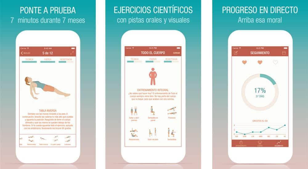 Apps para hacer deporte 20 apps para ponerte en forma - Aplicaciones para hacer deporte en casa ...