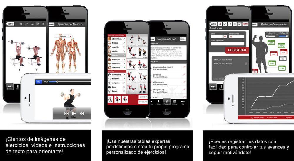 mejores aplicaciones para hacer ejercicio full fitness entrenador de ejercicio