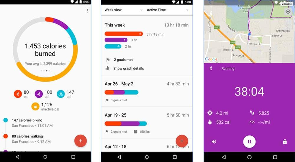 mejores aplicaciones para hacer ejercicio google fit