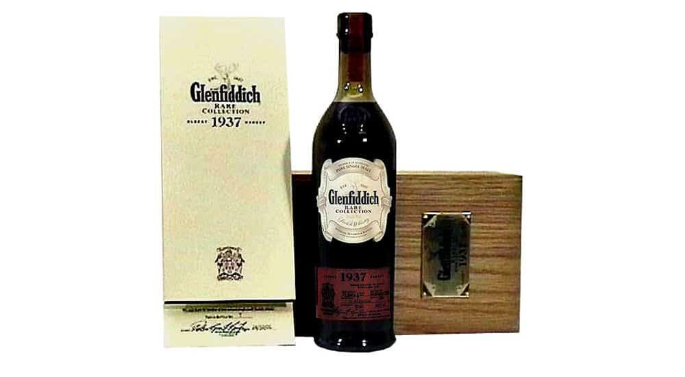 whisky mas caro del mundo glenfiddich rare collection 1937