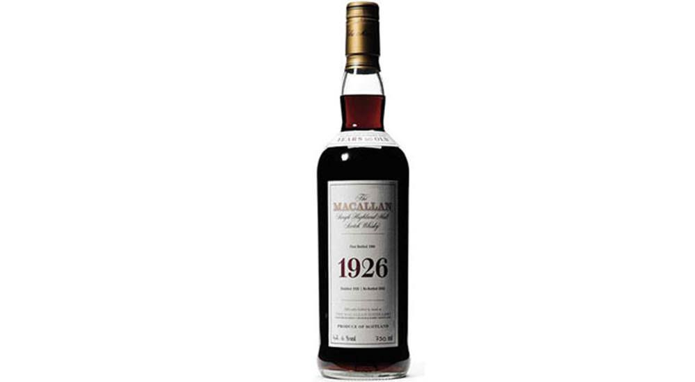 whisky mas caro del mundo macallan 1926
