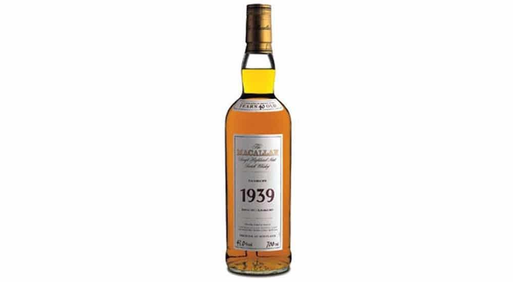 whisky mas caro del mundo macallan 1939