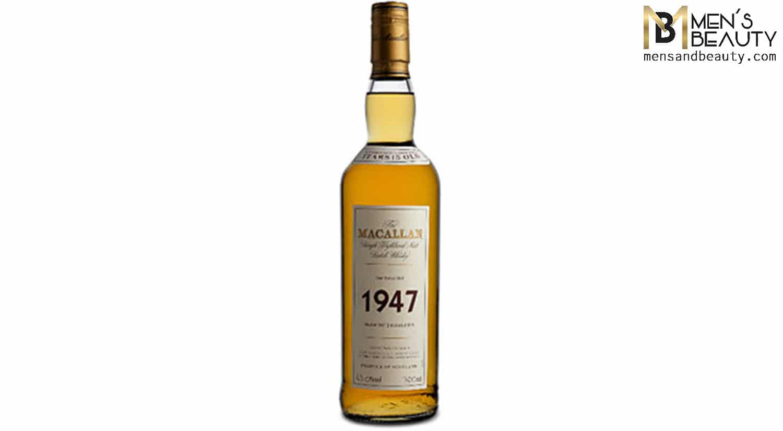 whisky mas caro del mundo macallan 1947