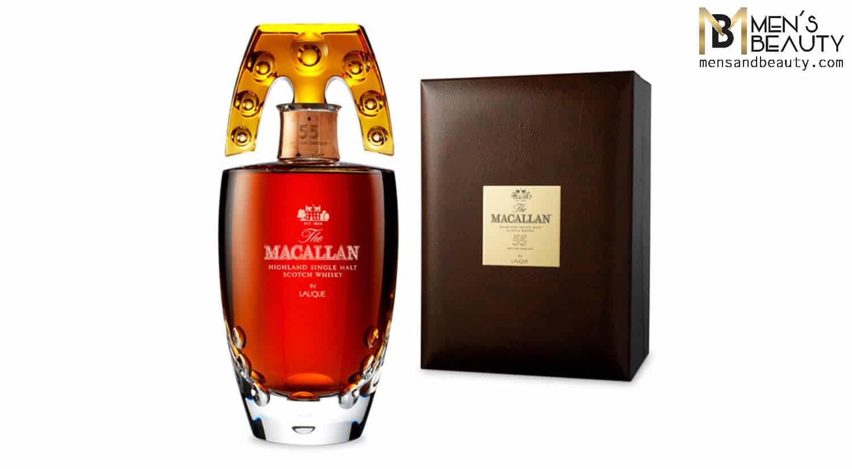whisky mas caro del mundo macallan 55 lalique
