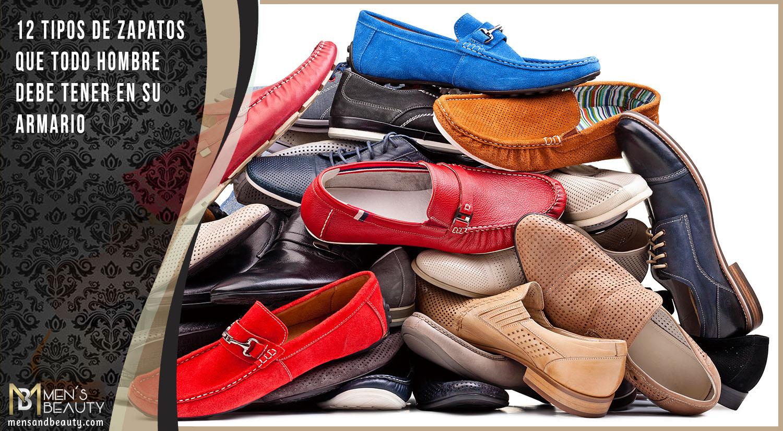 3ad40dac ▷ ¡ZAPATOS para Hombre! 12 TIPOS de Calzado Esenciales 🥇
