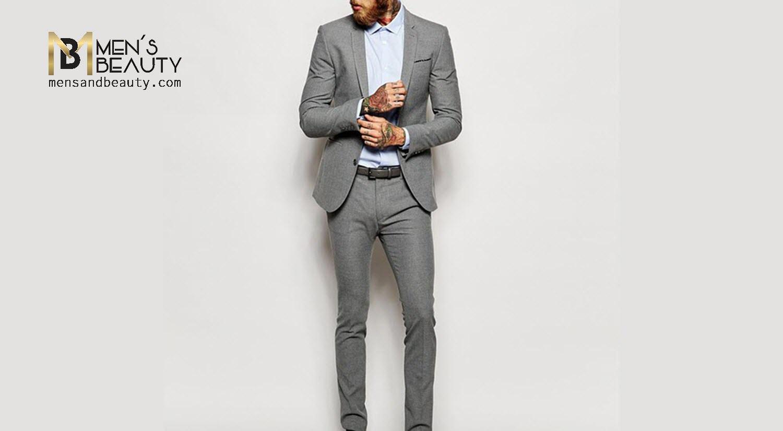 guia traje hombre corte slim fit