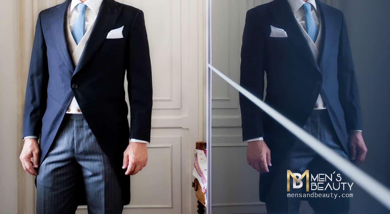 guia traje hombre tipo traje chaque