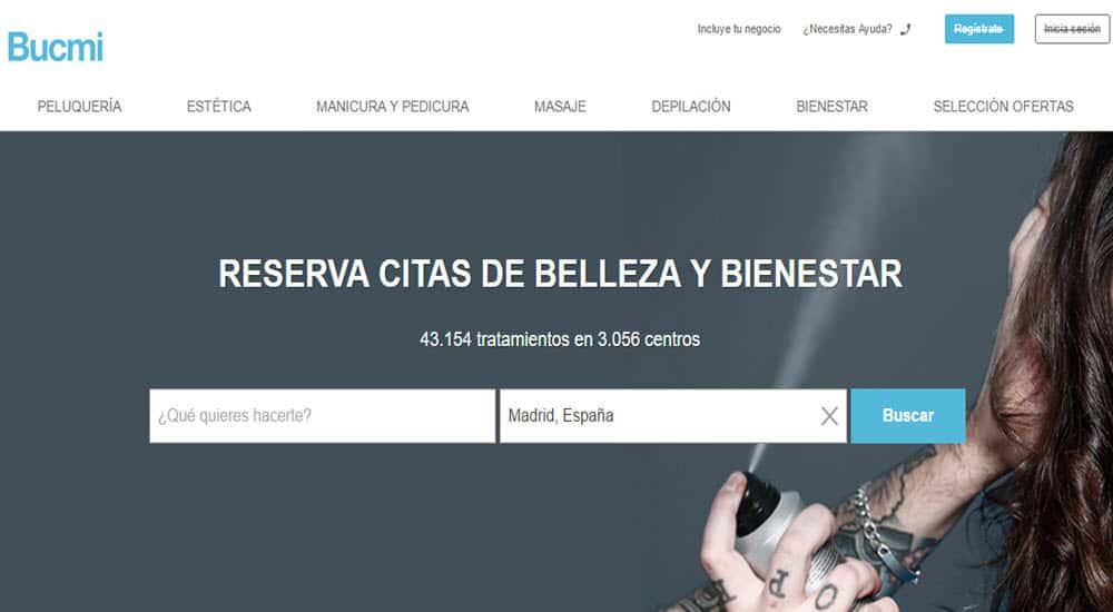 mejores paginas reservar online centro belleza tratamiento belleza bucmi