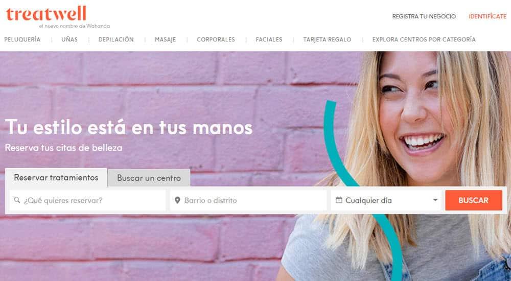mejores paginas reservar online centro belleza tratamiento belleza treatwell
