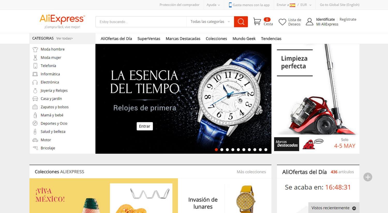 mejores tiendas chinas online comprar barato aliexpress