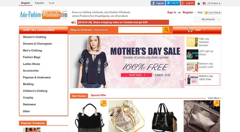 mejores tiendas chinas online comprar barato asia fashion wholesale