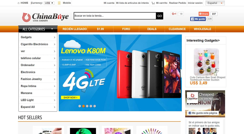 mejores tiendas chinas online comprar barato chinabuye