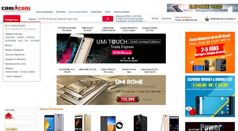 mejores tiendas chinas online comprar barato coolicool