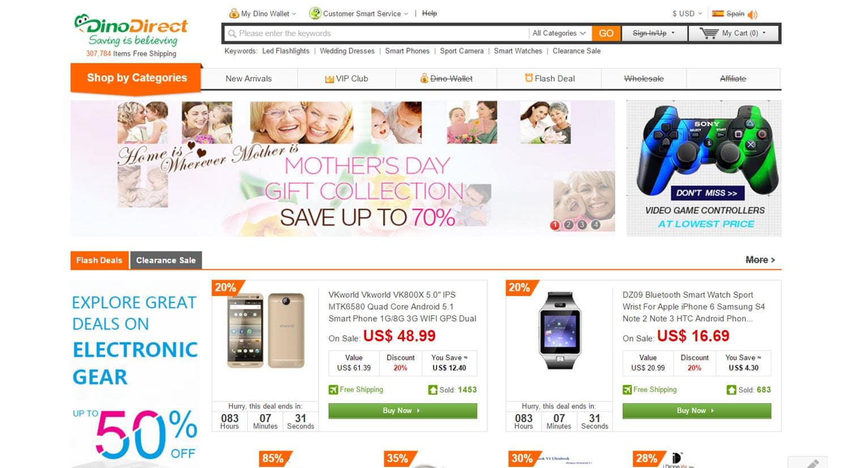 mejores tiendas chinas online comprar barato dinodirect