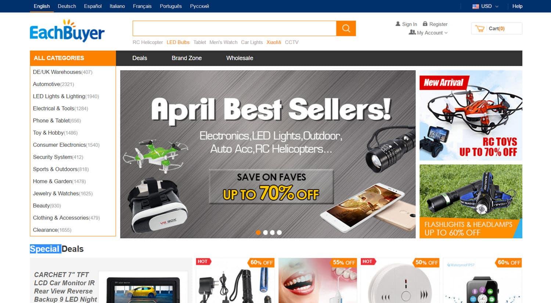mejores tiendas chinas online comprar barato eachbuyer