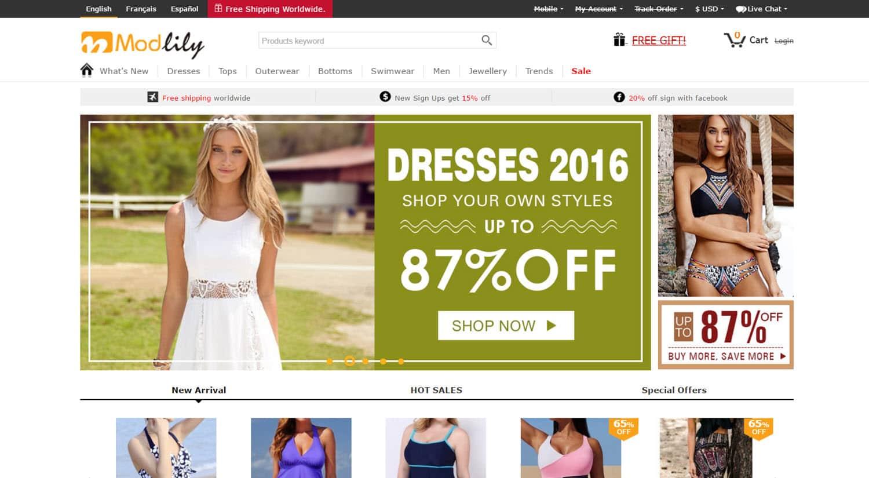 mejores tiendas chinas online comprar barato modlily
