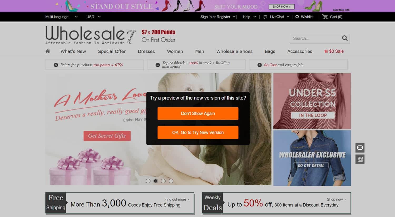 mejores tiendas chinas online comprar barato wholesale7