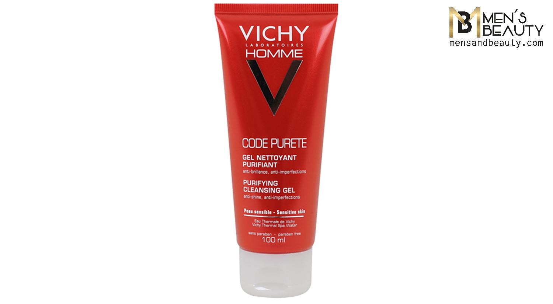 mejores geles limpiadores faciales hombre code purete vichy homme