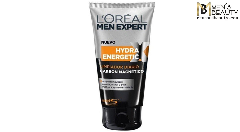 mejores geles limpiadores faciales hombre hydra enegetic carbon magnetico loreal men expert
