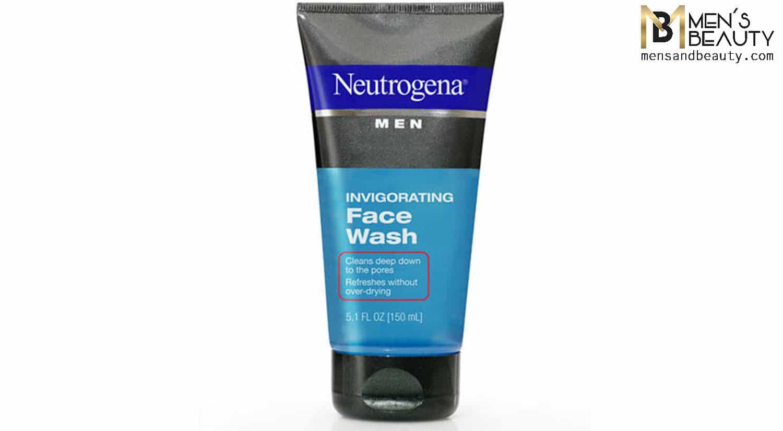 mejores geles limpiadores faciales hombre invigorating face wash neutrogena men