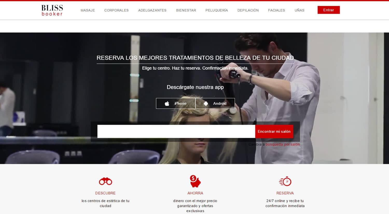 reservar online centro belleza blissbooker