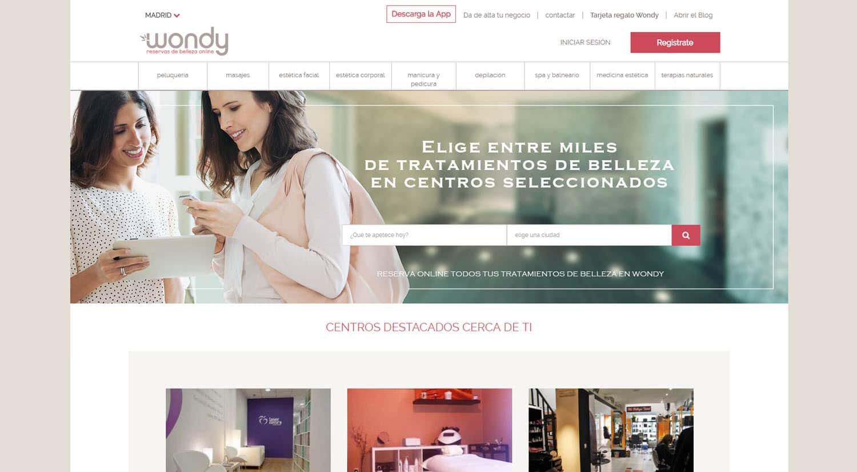 reservar online centro belleza wondy