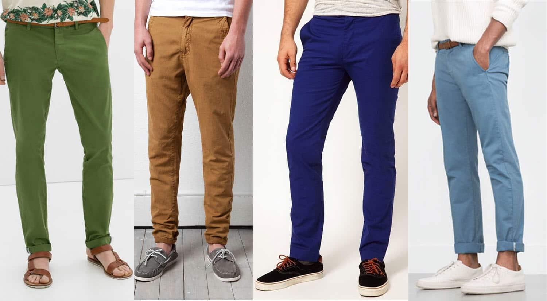prendas hombre imprescindibles primavera verano pantalones chinos