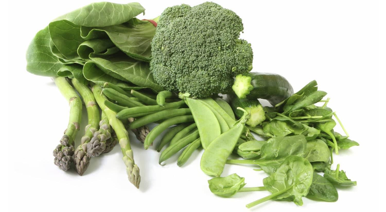 remedios contra resaca verduras color verde