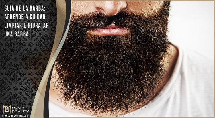 consejos cuidar barba