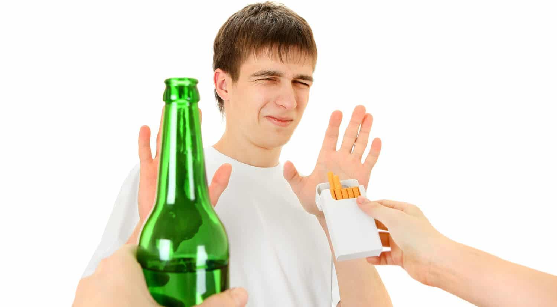 consejos dormir bien di no tabaco alcohol