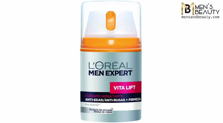 mejor crema hidratante hombre hidratante diario anti edad integral loreal men expert