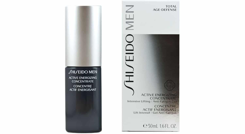 mejor crema hidratante masculina active energizing concentrate shiseido men