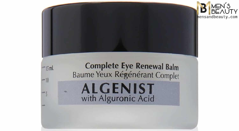 mejor crema hidratante hombre complete eye balm algenist